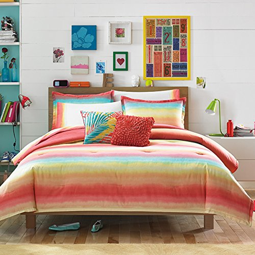 Teen Vogue Electric Beach Comforter Set, Full/Queen front-28529