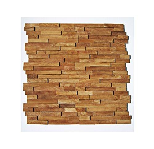 ho m 002 1 muster fliese teak holz mosaik fliesen wand verblender wurzelholz schwemmholz. Black Bedroom Furniture Sets. Home Design Ideas