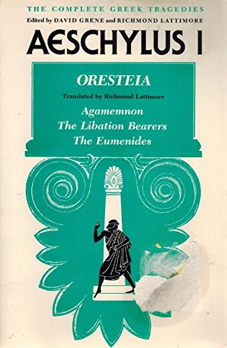 Complete Greek Tragedies: Aeschylus I