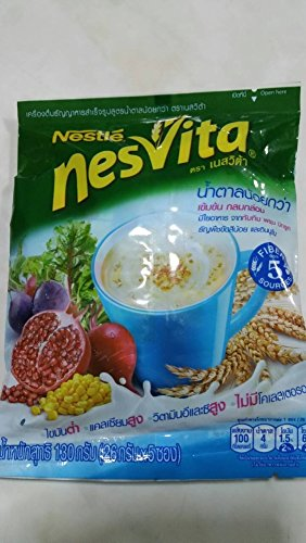 Nesvita Actifibras Instant Cereal Beverage Original Plus Fiber Formula Flavor Net Weight 130 G (26Gx5Sachets)