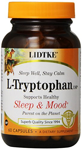 Lidtke Technologies L-Tryptophan Capsules, 60 Count