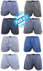 Andrew Scott® Men's 3 Pack Soft Stretch Knit Boxers