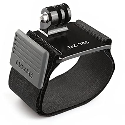 New-Wrist-Strap-Band-Mount-for-GoPro-Hero-2-Hero3-Hero3+-Cameras-(Without-Screw)-(DZ-305)