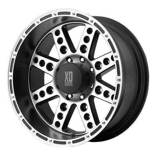 18X9 Kmc Xd Diesel (Satin Black) Wheels/Rims 6X135 (Xd76689063500)