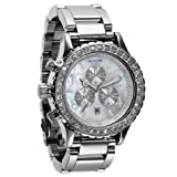 NIXON Ladies NXA037710 Chronograph Dial with Swarovski Crystal Watch by NIXON