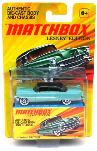 matchbox-1955-cadillac-fleetwood-die-cast-vehicle-lesney-edition-by-mattel