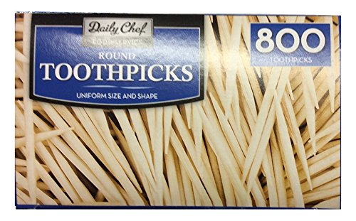 Bakers & Chefs Bakers & Chefs Round Toothpicks 4/800ct