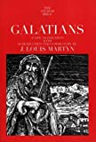 img - for By J. Louis Martyn Galatians (The Anchor Yale Bible Commentaries) [Paperback] book / textbook / text book