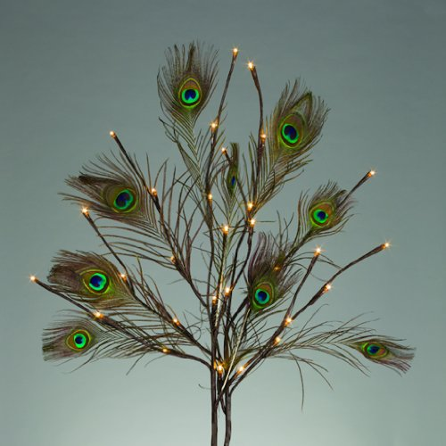 Gerson 41646 - 41646 Battery Operated Willow Lighted Branches
