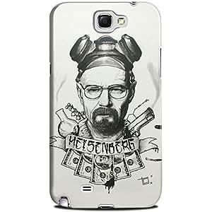 CASE U Breaking Bad Heisenburg Pencil Sketch Case for Samsung Galaxy Note2