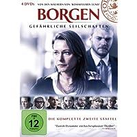 Borgen - Gef�hrliche Seilschaften, Die komplette zweite Staffel [4 DVDs]
