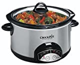 Crock-Pot SCRP500-SP 5-Quart Smudge Proof Slow Cooker