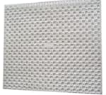 Whitefurze Cream Square Sink Mat Drai...