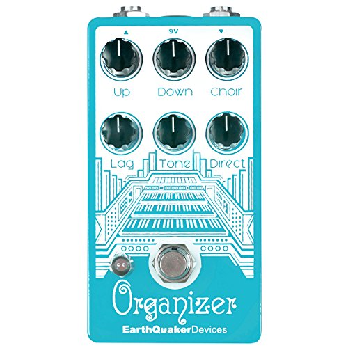 Earthquaker Devices Organizer Polyphonic Organ Emulator Guitar Octave Effect Pedal