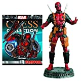Marvel Deadpool White Pawn Chess Piece with Collector Magazine by Eaglemoss Publications