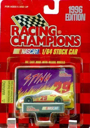 Racing Champions Nascar 1/64 Stock Car 1996 Edition #29 WCW Sting Car - 1