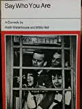 Say Who You are (0237490277) by Waterhouse, Keith