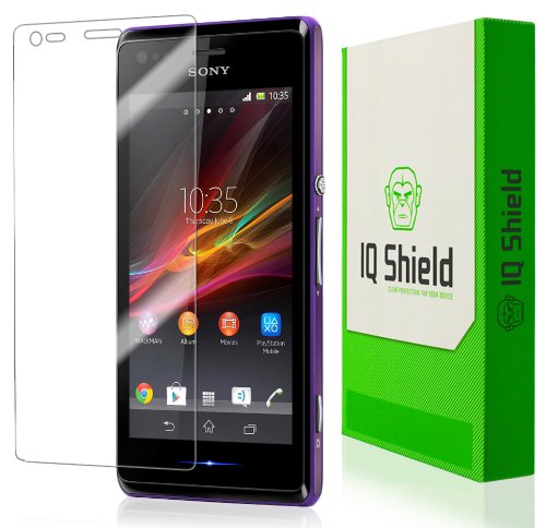 Iq Shield Liquidskin - Sony Xperia M Screen Protector - High Definition (Hd) Ultra Clear Phone Smart Film - Premium Protective Screen Guard - Extremely Smooth / Self-Healing / Bubble-Free Shield - Kit Comes With Retail Packaging And 100% Lifetime Replacem