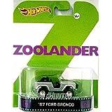 "67 Ford Bronco ""ZOOLANDER"" Hot Wheels 2014 Retro Series 1/64 Die Cast Vehicle"