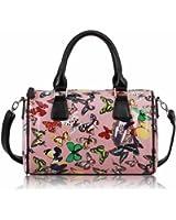 KCMODE Womens Satchel Barrel Fashion Handbag