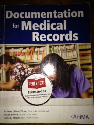 Documentation for Medical Records Barbara Odom-wesley