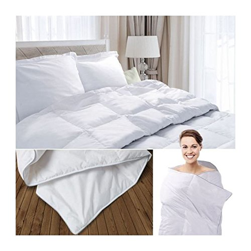 probache couette plume d 39 oie 240x260 cm anti acariens notre si cle. Black Bedroom Furniture Sets. Home Design Ideas