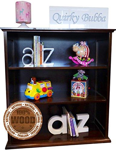 Libreria in legno massello Mensola libreria + Libro di Bambini + Facile da montare