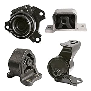 4pc motor engine mounts set kit for 2002 for 2002 honda civic motor mount bracket
