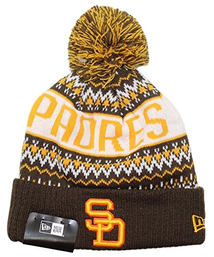 san-diego-padres-new-era-mlb-cooperstown-wintry-pom-cuffed-knit-hat-with-pom