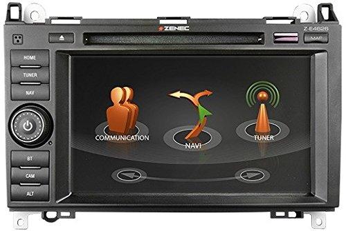 Zenec-Z-de-E4626-avec-GPS-pour-caravane-quiper-la-pour-Mercedes-Sprinter-Viano-Vito-passgenauer-de-montage-autoradio-avec-systme-multi-Tuner-pour-strungsfreien-rception-de-FM-DAB-et-TMC-Logiciel-Navi-