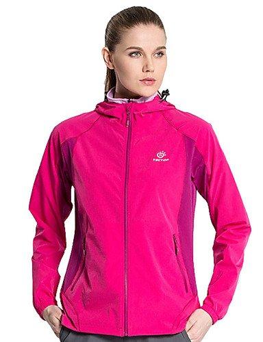 EIK Esterno Per donna Top / Giacca di pelle / Giacche a ventoCampeggio e hiking / Pesca / Spiaggia / Ciclismo / Sci di fondo / Sci fuoripista , sky blue , l
