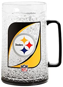 NFL Pittsburgh Steelers 36-Ounce Crystal Freezer Monster Mug by Duck House