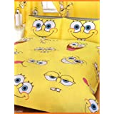 Character World Spongebob Expressions Double Rotary Duvet Setby Spongebob