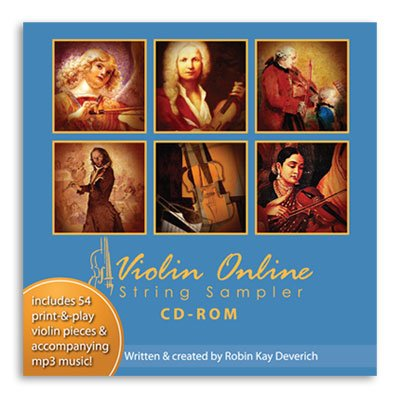 Violin Online String Sampler: CD-ROM