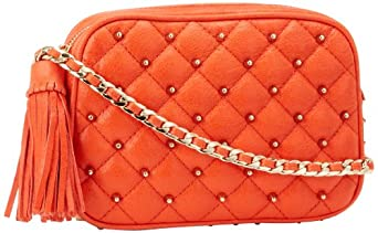 Rebecca Minkoff Flirty 10PIQSCCR2 Shoulder Bag,Persimmon,One Size