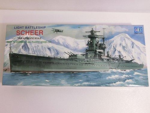 1/400 ドイツ海軍 ポケット戦艦 アドミラル・シェーア フルハルモデル モーターライズ