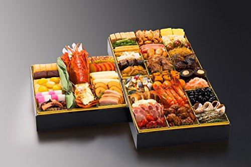 博多久松 和洋折衷本格料亭おせち 博多 特大8寸3段重 全46品
