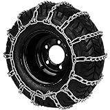 Paire de chaine à neige pour pneumatique - Dimensions: 500/570 x 8 et 16 x 550 - 8 et