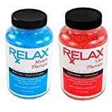 Muscle & Vital Rx Therapy Hot Tub Aromatherapy Crystals -19 Oz Bottles- Natural Therapeutic Salts Vitamins For...