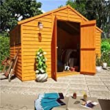 BillyOh 6' x 10' Overlap Double Door Apex Garden Shed