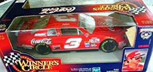 Dale Earnhardt Winner's Circle Red Coca-Cola #3 ~ 1:24 Scale Die Cast