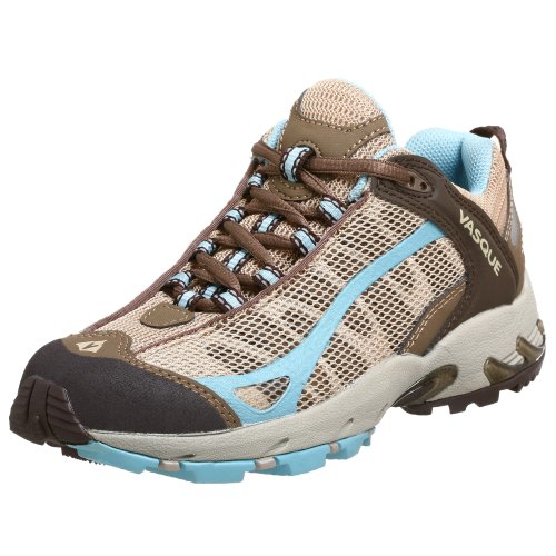 Vasque Women's Velocity VST Trail Runner,Choc Chip/Khaki,10 M US