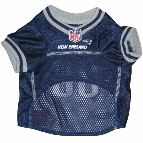 Pets First NFL New England Patriots Pet Jersey,