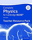 Complete Physics for Cambridge IGCSE ® Teacher Resource Pack (Third edition) (Complete Science Igcse)