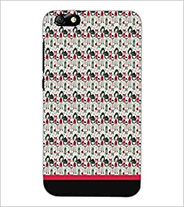 PrintDhaba Pattern D-1955 Back Case Cover for HUAWEI HONOR 4X (Multi-Coloured)