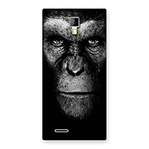 Premium Chimp King Black Back Case Cover for Micromax Canvas Xpress A99