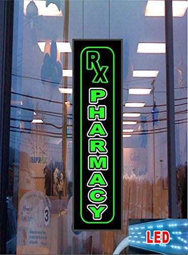 RX Pharmacy LED Light up Sign (Freightliner Cascadia Dash compare prices)