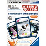 Ravensburger 00750 - tiptoi Wissen und Quiz: Spannende Erfindungen - Quiz- und Kartenspiel von Ravensburger Spieleverlag GmbH