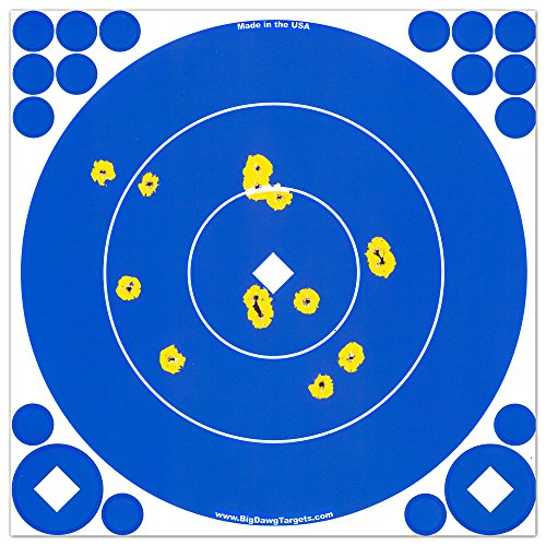 Big Dawg Targets - Adhesive 12 Inch Reactive