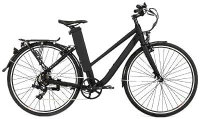 revoebike E City Power Assisted Bike-Matt Black